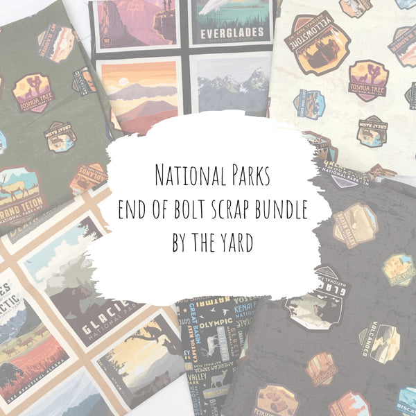 National Parks - End of Bolt Scrap Bundle (By the Yard)