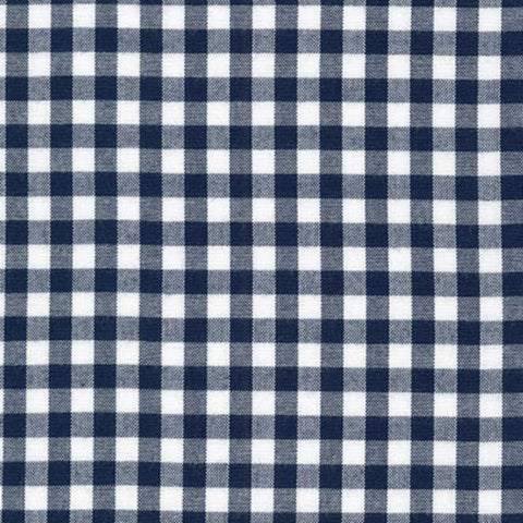 "Carolina Gingham 1/4"" in Navy"