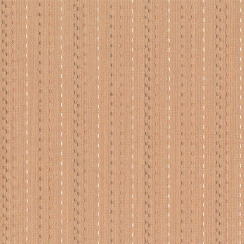 Nikko Embroidered Stripes in Blush