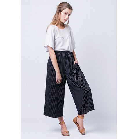 Named Clothing - Ninni Elastic Waist Culottes Sewing Pattern (Paper)