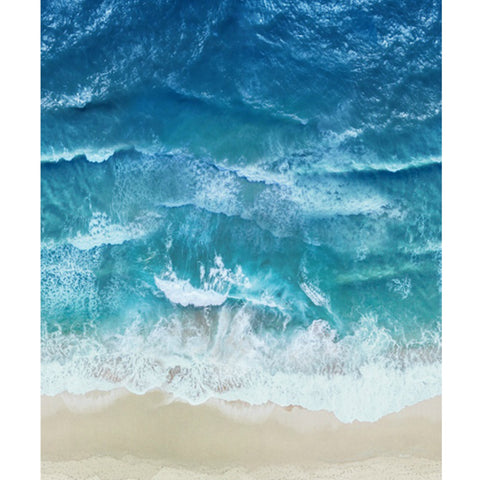 Coastal Calm in Ocean (digital spectrum print)