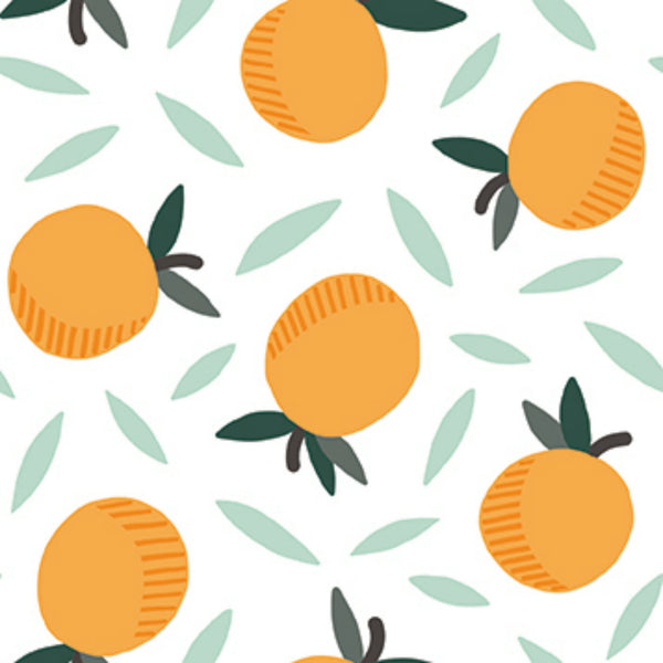 Oranges in White