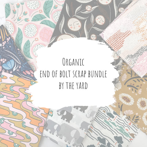 Organic - End of Bolt Scrap Bundle (By the Yard)