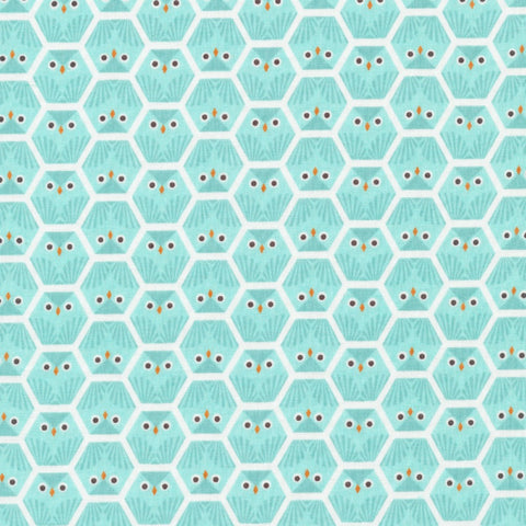 Owl in Powder Blue Organic