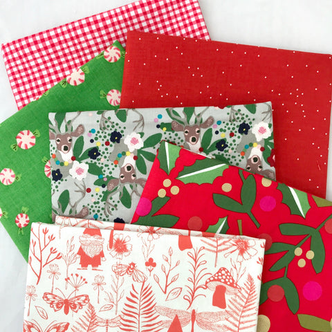 Peppermint Twist Fat Quarter Bundle