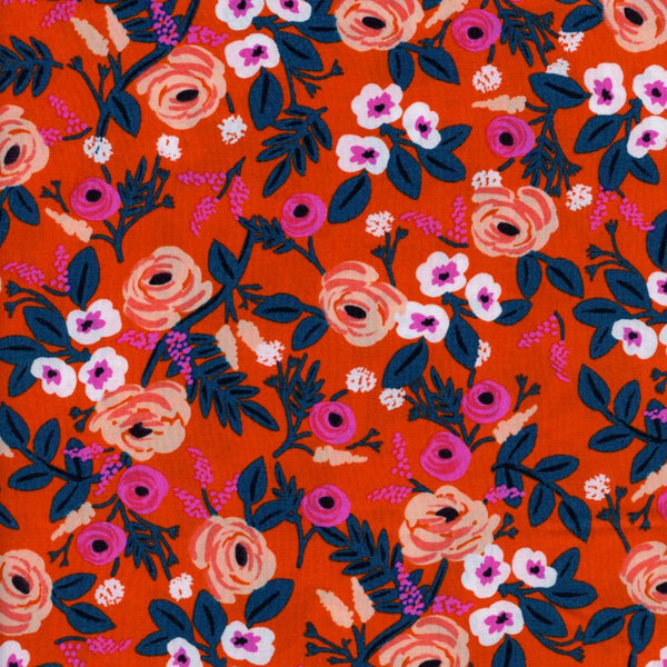 Paint Roses RAYON in Orange