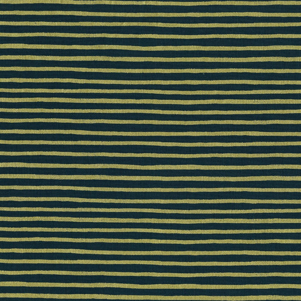 Painted Stripes in Navy Metallic