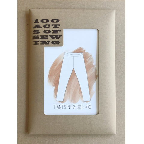 100 Acts of Sewing - Pants No. 2 Pattern (paper)