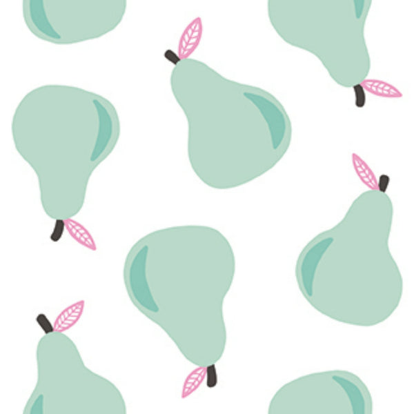 Pears in White