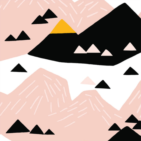 Pink Mountain CANVAS in Blush Organic