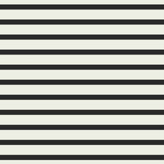 Classic Stripes RAYON in Cream / Black