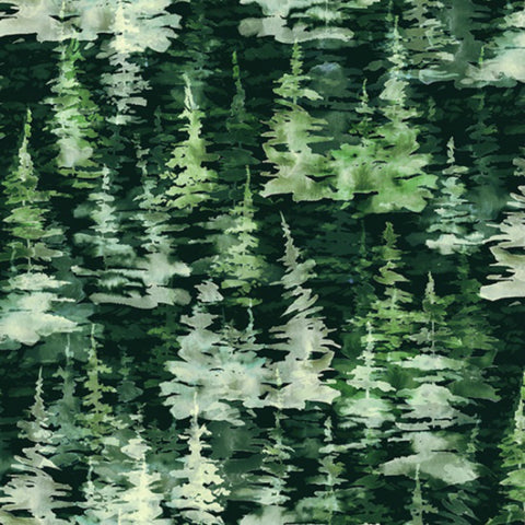 Forest in Pine (digital spectrum print)