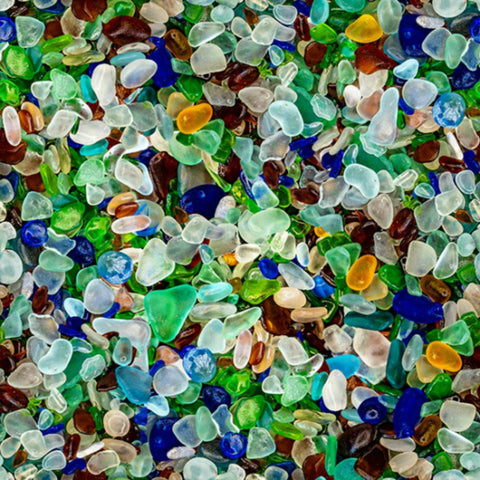 Coastal Calm in Sea Glass (digital spectrum print)