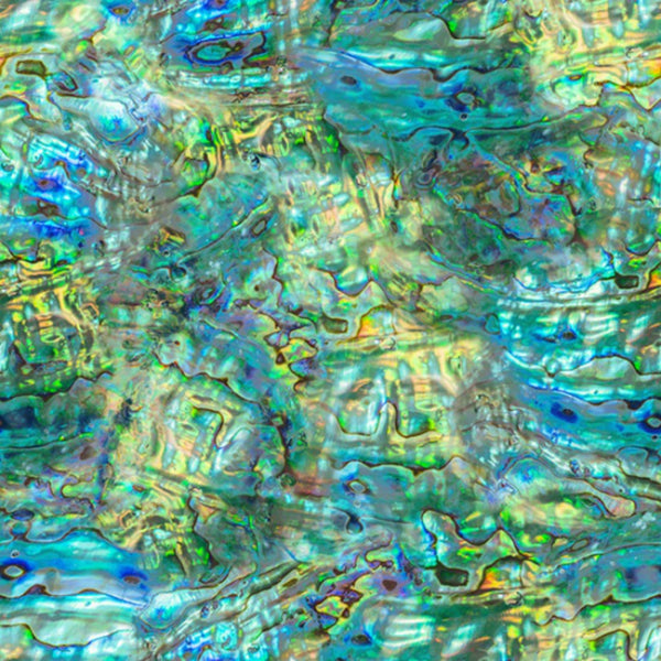 Coastal Calm in Abalone (digital spectrum print)