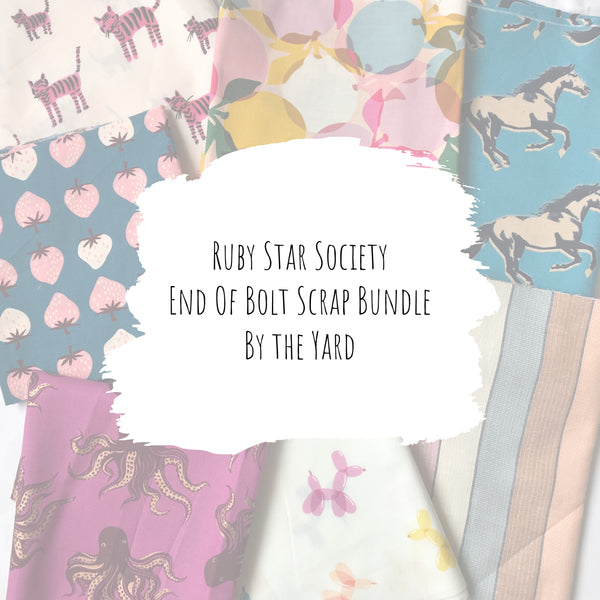 Ruby Star Society - End of Bolt Scrap Bundle (By the Yard)