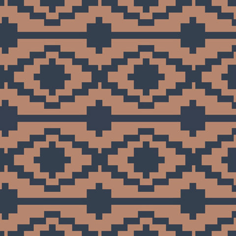 Rivercane RAYON in Terracotta