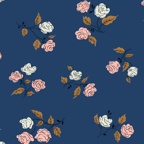 Roses in Midnight - Last Fat Quarter