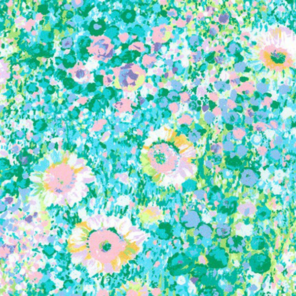 Painterly Petals Meadow in Pastel