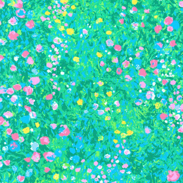 Painterly Petals Floral Dot in Pastel