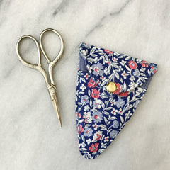 Liberty of London Scissors & Sheath in Orchard Multi