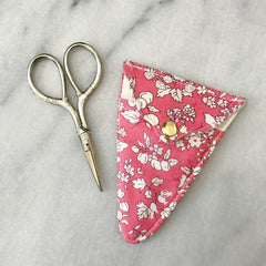 Liberty of London Scissors & Sheath in Orchard Rose