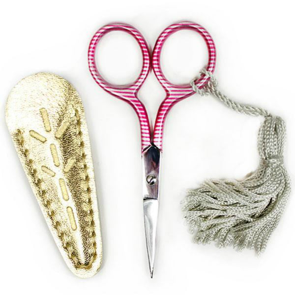 Sublime Stitching Striped Embroidery Scissors