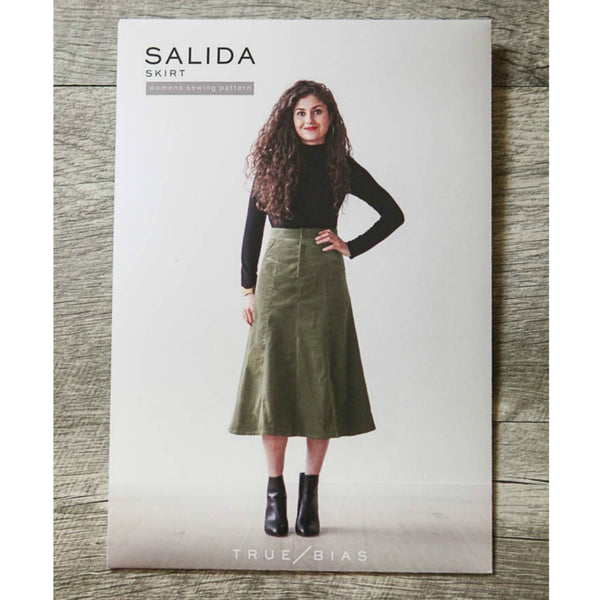 True Bias Salida Skirt Pattern (paper)