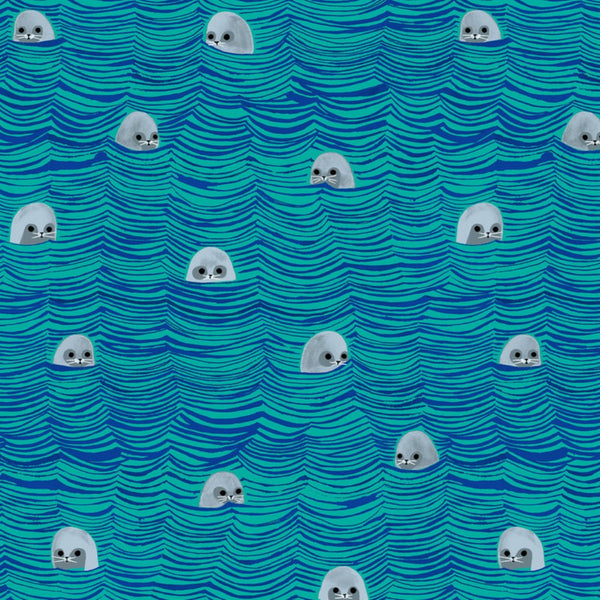 Sea of Seals in Green