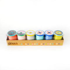 Cotton + Steel - Sulky Thread Set - Sienna pack of 6