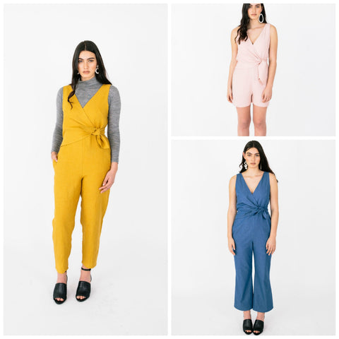Papercut Patterns - Sierra Jumpsuit Pattern (paper)