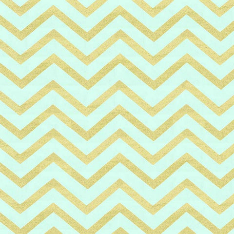Sleek Chevron Pearlized in Mist