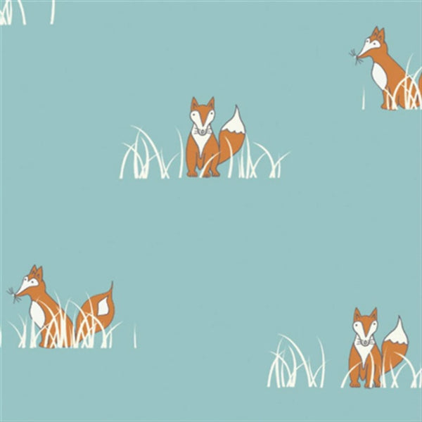 Sly Fox in Turquoise Organic
