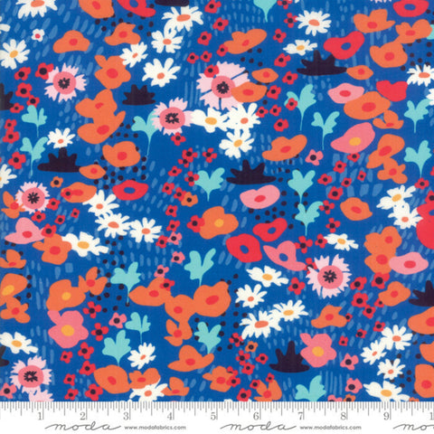 Botanica Small Floral in Royal