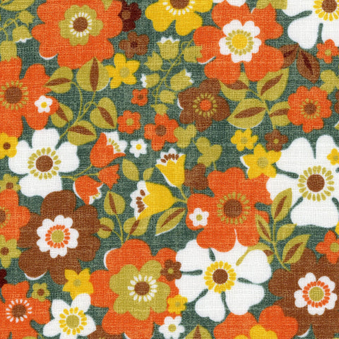 Sopo Retro DOBBY Floral in Orange