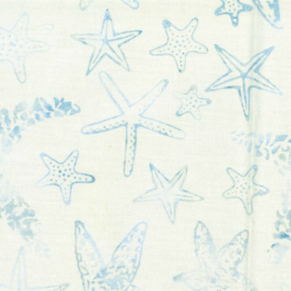 Starfish in Seasalt - Last Fat Quarter