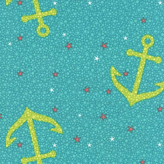 Starfish Anchors in Aqua