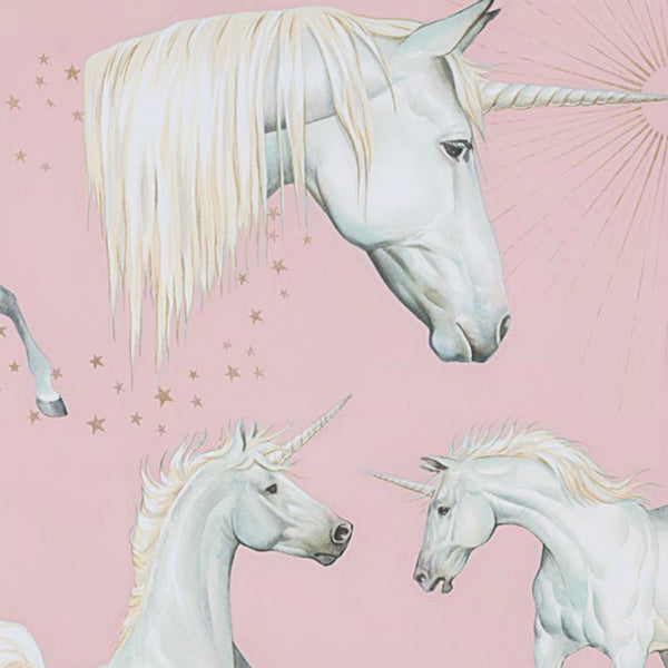 Stars of the Unicorn in Pink Metallic