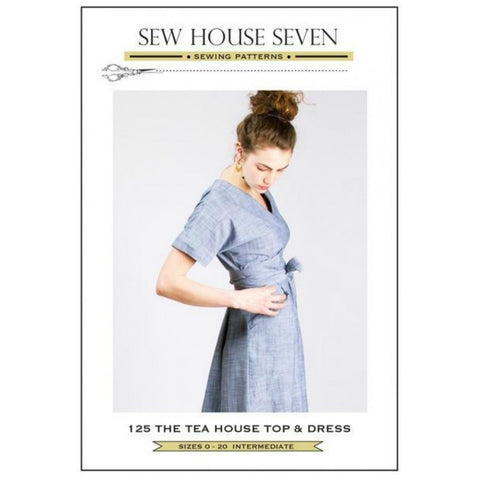 Sew House Seven - The Tea House Top and Dress Pattern (paper)