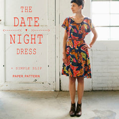 April Rhodes Date Night Dress & Simple Slip Pattern (paper)