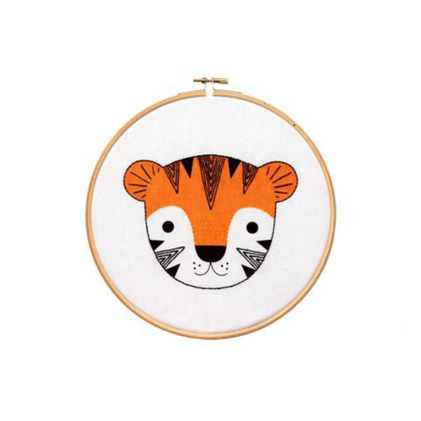 Kiriki Press Hoop Art Kit - TIGER CUB