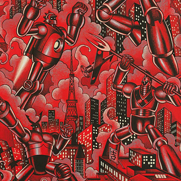 Tokyo Bots in Red