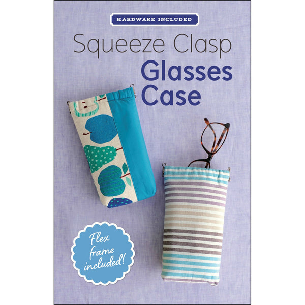 Squeeze Clasp Glasses Case Kit (Pattern + Hardware)