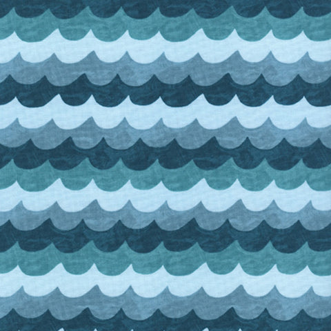 Waves in Turquoise