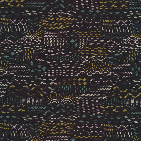 Woven Tales in Black Organic