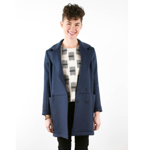 Grainline Studio Yates Coat Pattern (paper)