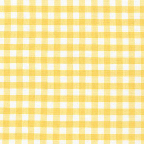 "Carolina Gingham 1/4"" in Yellow"