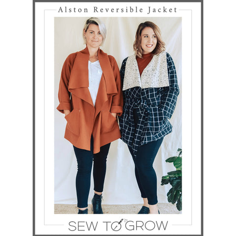 Sew to Grow - Alston Reversible Jacket Pattern (printed paper)