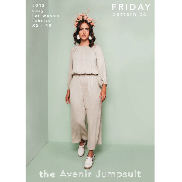 Friday Pattern Co. Avenir Jumpsuit Pattern (paper)