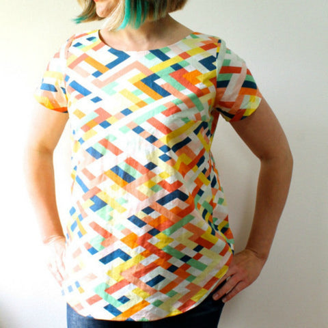 Made by Rae Beatrix women's Shirt / Top Pattern (paper)