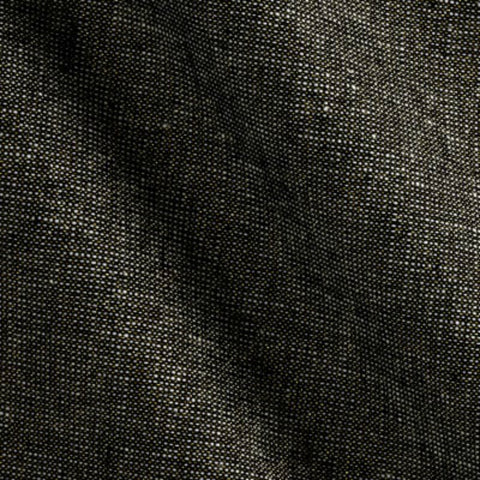 Essex Yarn Dyed Metallic (cotton / linen) in Black Metallic